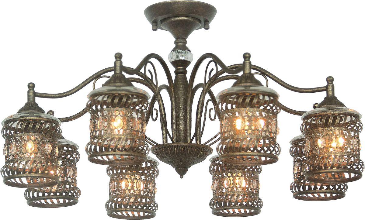 Люстра потолочная Favourite Arabia, 8 х E14, 40W. 1621-8P1621-8P