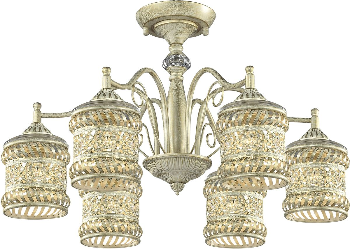 Люстра потолочная Favourite Arabia, 6 х E14, 40W. 1623-6P1623-6P