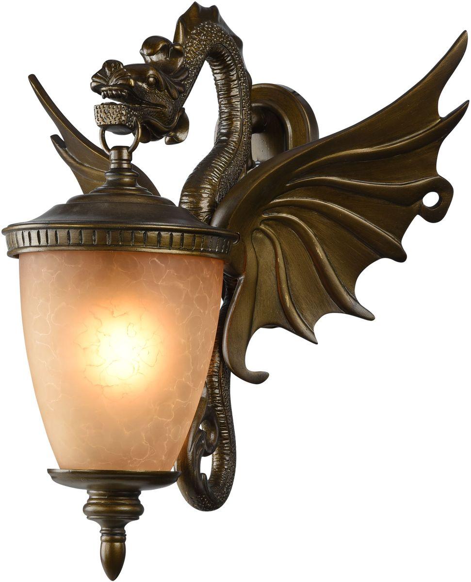 Cветильник уличный настенный Favourite Dragon, 1 х E27, 60W. 1717-1W1717-1W
