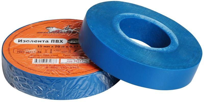 Изолента Airline, цвет: синий, 15 мм х 20 мAIT-P- 10Изоляционная лента Airline выполнена из ПВХ и представляет собой расходный материал, предназначенный для обмотки проводов и кабелей с целью их электроизоляции. Изолента изготавливается из поливинилхлоридной пленки с нанесенным на нее клеевым слоем и полностью соответствует ГОСТу. Также изолента имеет высокую силу адгезииНапряжение пробоя: 5000V.Длина ленты: 20 м.Ширина ленты: 15 мм.
