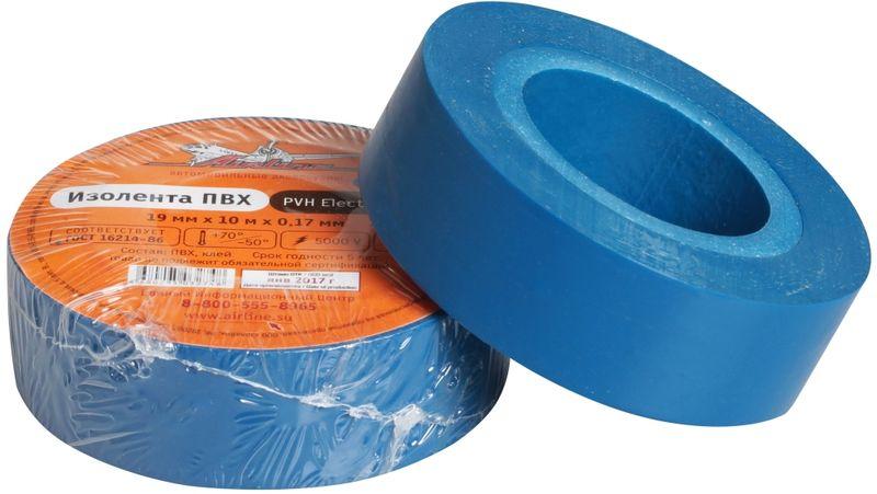 Изолента Airline, цвет: синий, 19 мм х 10 мAIT-P- 13Изоляционная лента ПВХ, которая представлена в широком ассортименте, различается по цветам, ширине ленты и длине намотки. Изолента представляет собой расходный материал, предназначенный для обмотки проводов и кабелей с целью их электроизоляции. Изолента AIRLINE изготавливается из поливинилхлоридной пленки с нанесенным на нее клеевым слоем и полностью соответствует ГОСТу-16214-86.Преимущества:- соответствует ГОСТу;- высший сорт;- высокая сила адгезииДлина ленты (м) - 10 Напряжение пробоя - 5000V Ширина ленты (мм) -19