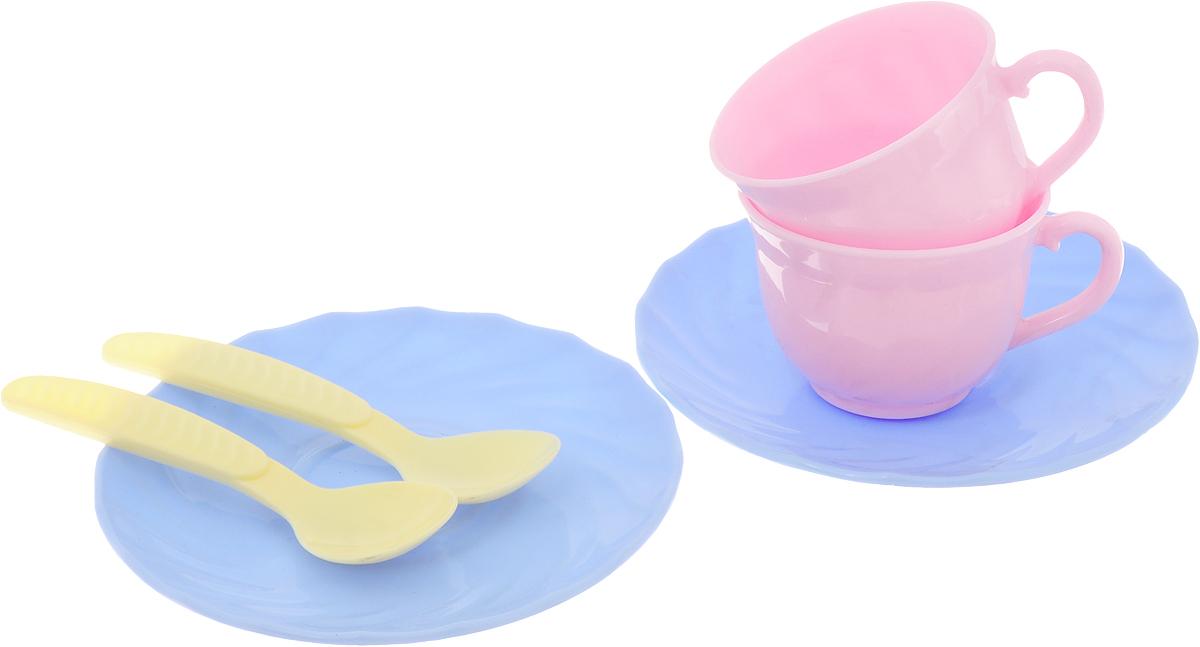 Лена Игровой набор Two Tea цвет сиреневый розовый желтый
