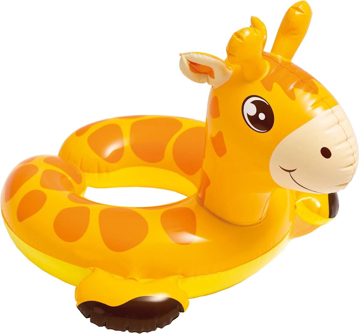 Intex Надувной круг Жираф 65 х 64 см intex надувной круг для плавания 76 см