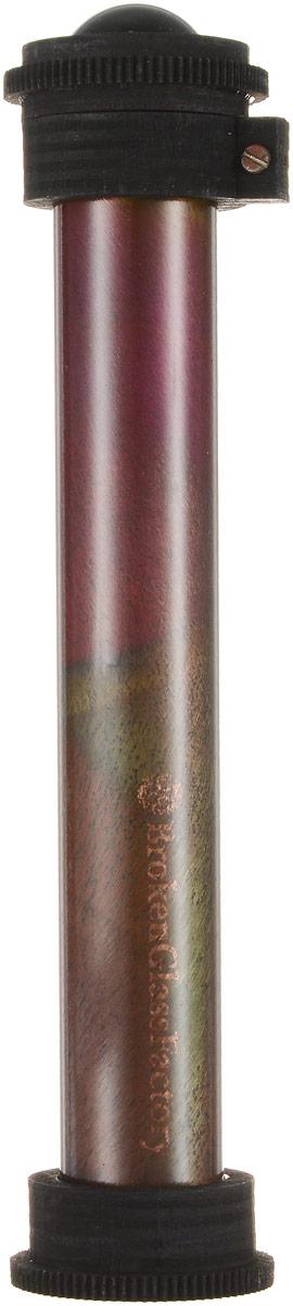 Телейдоскоп  Красивое Стекло , авторская работа. Алюминий, сталь, серебро, дерево, краска, лак синтетический, полимерная смола. т1 - Развлекательные игрушки