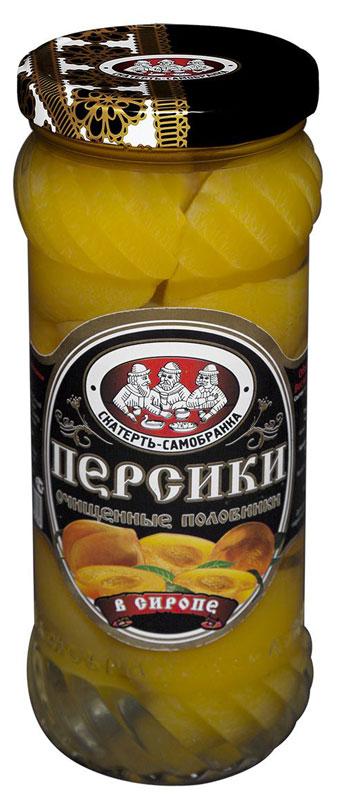 Скатерть-Самобранка персики, 580 мл4607067552389Персики половинками, очищенные, в сиропе.