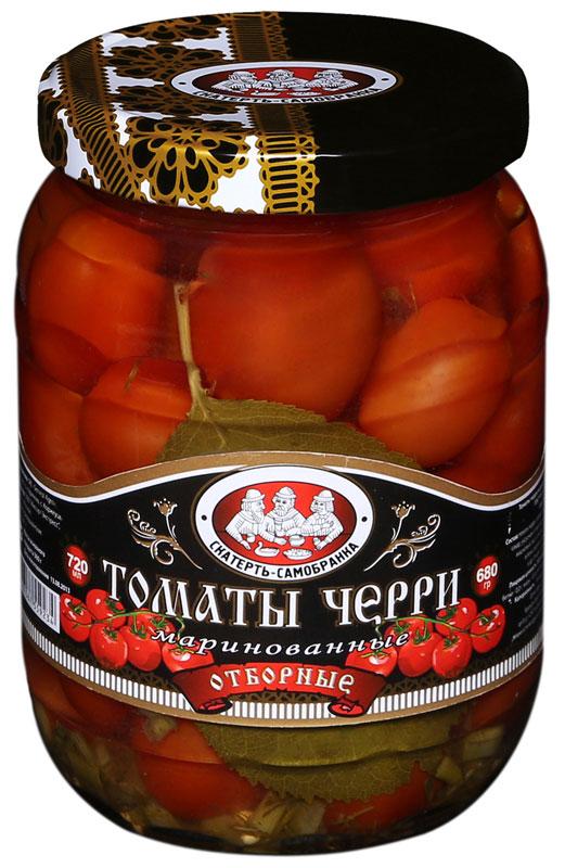 Скатерть-Самобранка черри маринованные, 720 мл lorado томаты маринованные 720 мл