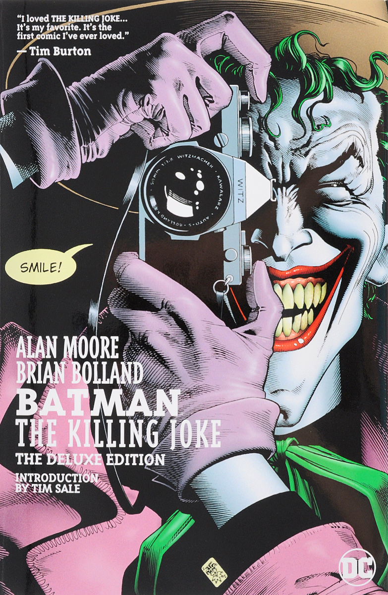 Batman: The Killing Joke: The Deluxe Edition the joker the clown prince of crime