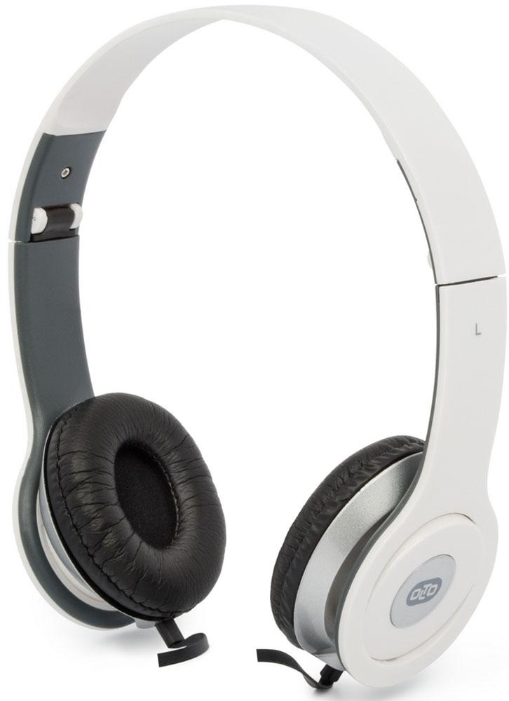 OLTO VS-15, White наушникиO00001295Накладные наушники OLTO VS-15 с отличным качеством звучания. Оснащены встроенным микрофоном, а также пультом для быстрого и удобного переключения между музыкой и вызовами. Подключив их к своему смартфону или планшету вы сможете не только наслаждаться любимой музыкой, но и с легкостью ответить на звонок, не доставая гаджет. Особенностью данной модели является плоский кабель с защитой от спутывания, который не перекручивается и не завязывается в узлы. Кроме того, L-образный штекер наушников OLTO VS-15также обеспечивает еще большую прочность и долговечность кабеля. Стоит также отметить наличие специального зажима, который помогает надежно закрепить кабель.
