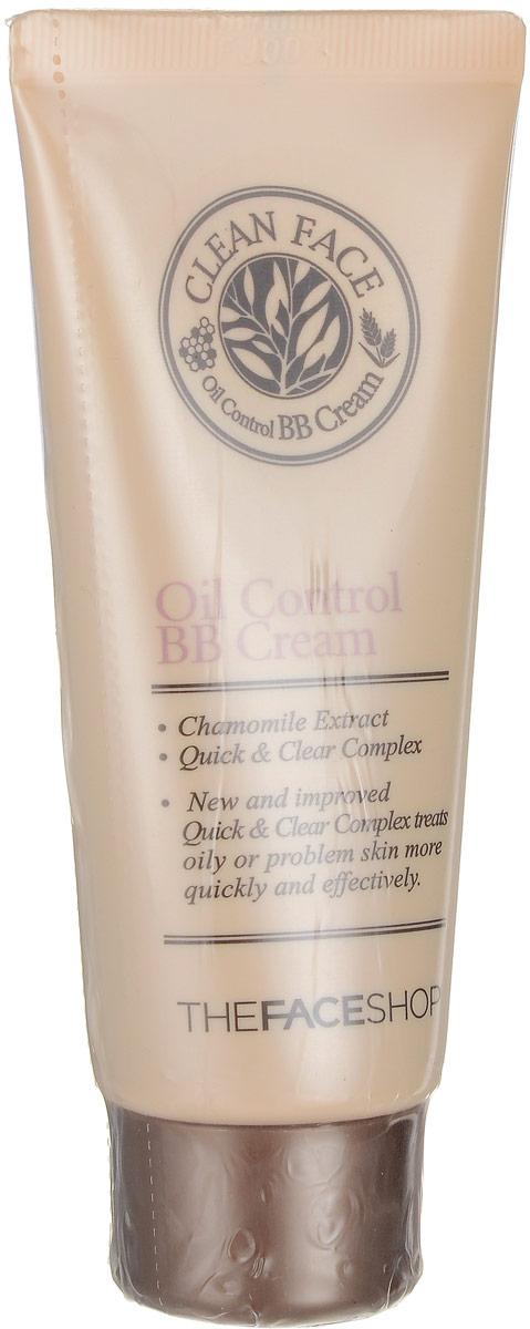 The Face Shop ББ крем для проблемной кожи Clean Face, 35мл bb крем the face shop photo blur bb cream spf37 pa объем 40 мл