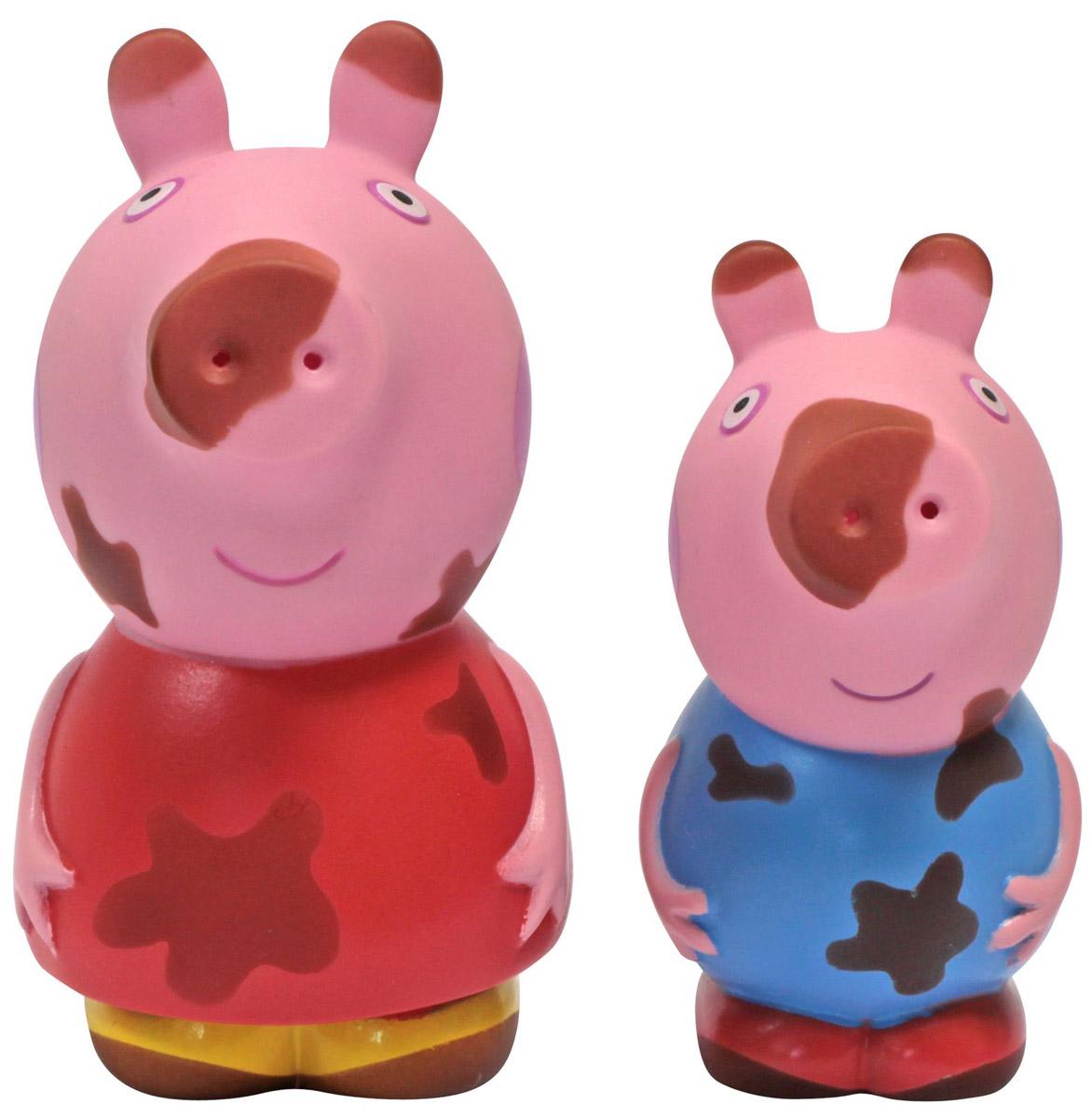 Peppa Pig Набор игрушек для ванной Грязнуля или Чистюля? игра печатная origami peppa pig 1584 весёлые выходные