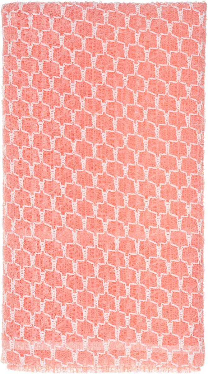 SungBo Мочалка для душа Clean&Beauty Royal, цвет: розовый, 28 х 90 смУТ000000673_розовыйБлагодаря оригинальной вязке из гофрированного волокна мочалка создает одновременно ощущение мягкости так и ощущение пилинга, нежно отшелушивая огрубевшую кожу. Шероховатая текстура стимулирует циркуляцию крови по всему телу и помогает сохранить здоровье и упругость кожи. Мочалка позволяет получать обильную пену, используя небольшое количество геля для душа. Ее легко мыть, и она быстро сохнет. Высококачественное волокно обеспечивает долговечность. Характеристики:Материал: нейлон, полиэстер. Размер мочалки:28 см х 90 см.