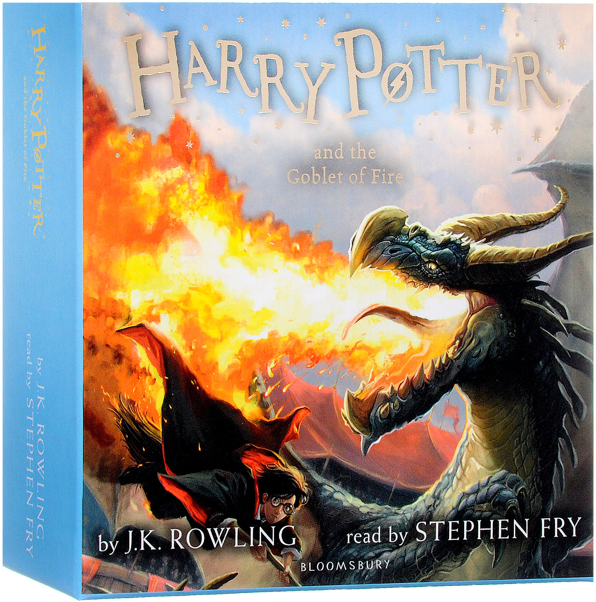 Harry Potter and the Goblet of Fire (аудиокнига на 17 CD) harry potter the chamber of secrets