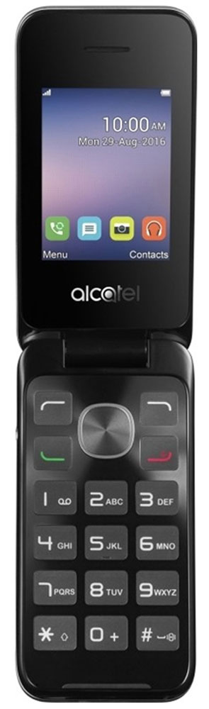 Alcatel OT-2051D, Black Metal Silver