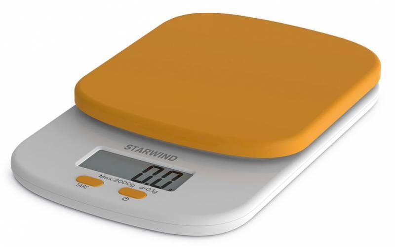 Starwind SSK2158, Orange весы кухонныеSSK2158Кухонные электронные весы Starwind SSK2158 - незаменимый помощник современной хозяйки. Они помогут точно взвесить любые продукты и ингредиенты. Кроме того, позволят людям, соблюдающим диету, контролировать количество съедаемой пищи и размеры порций. Предназначены для взвешивания продуктов с точностью измерения 1 грамм.