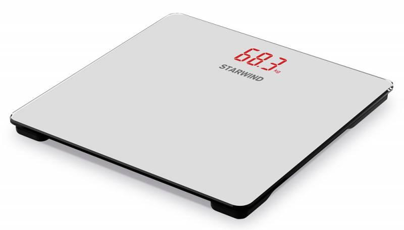 Starwind SSP5451, Gray весы напольныеSSP5451Напольные электронные весы Starwind SSP5451 - неотъемлемый атрибут здорового образа жизни. Они необходимы тем, кто следит за своим здоровьем, весом, ведет активный образ жизни, занимается спортом и фитнесом. Очень удобны для будущих мам, постоянно контролирующих прибавку в весе, также рекомендуются родителям, внимательно следящим за весом своих детей.Погрешность измерения: 100 гДисплей с подсветкой