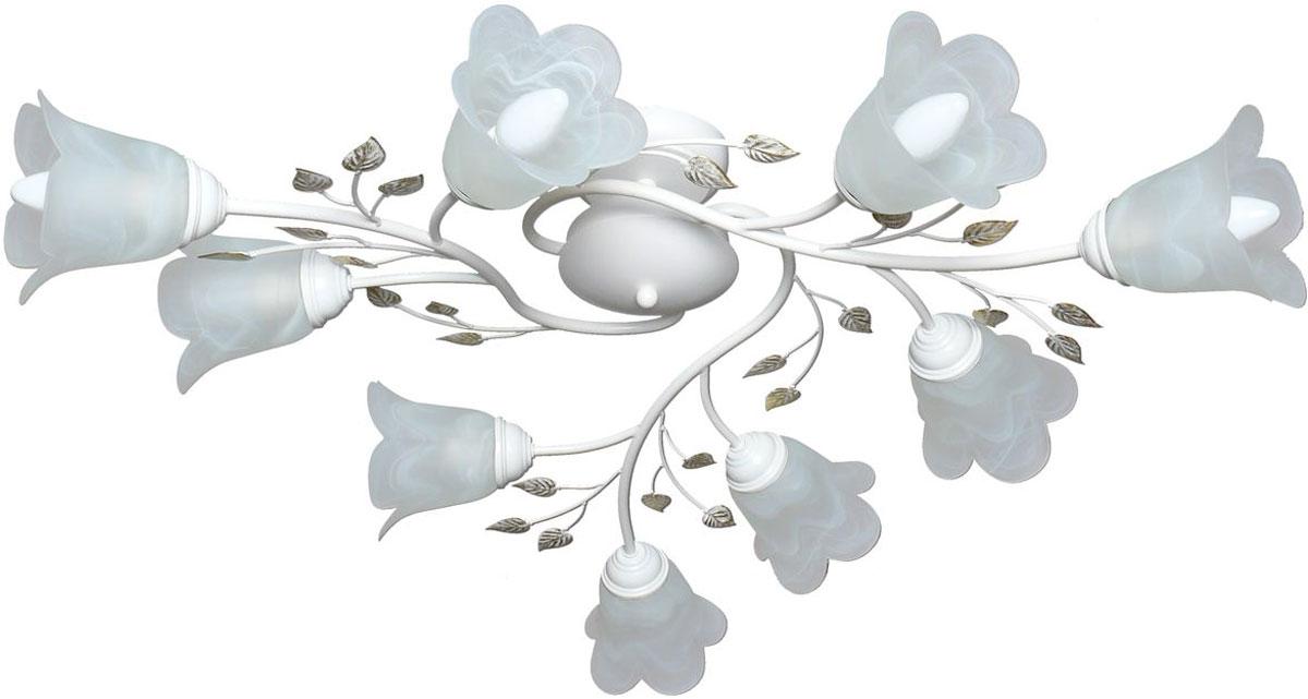 Люстра потолочная Аврора Лилия, 9 х E14, 60 W. 10019-9C10019-9C