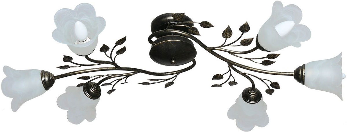 Люстра потолочная Аврора Лилия, 6 х E14, 60 W. 10020-6C10020-6C