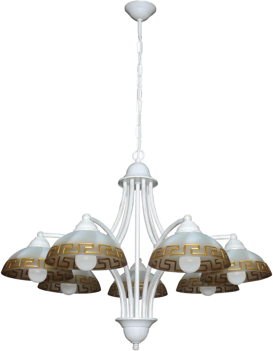Люстра подвесная Аврора Афина, 7 х E14, 60 W. 10053-7L