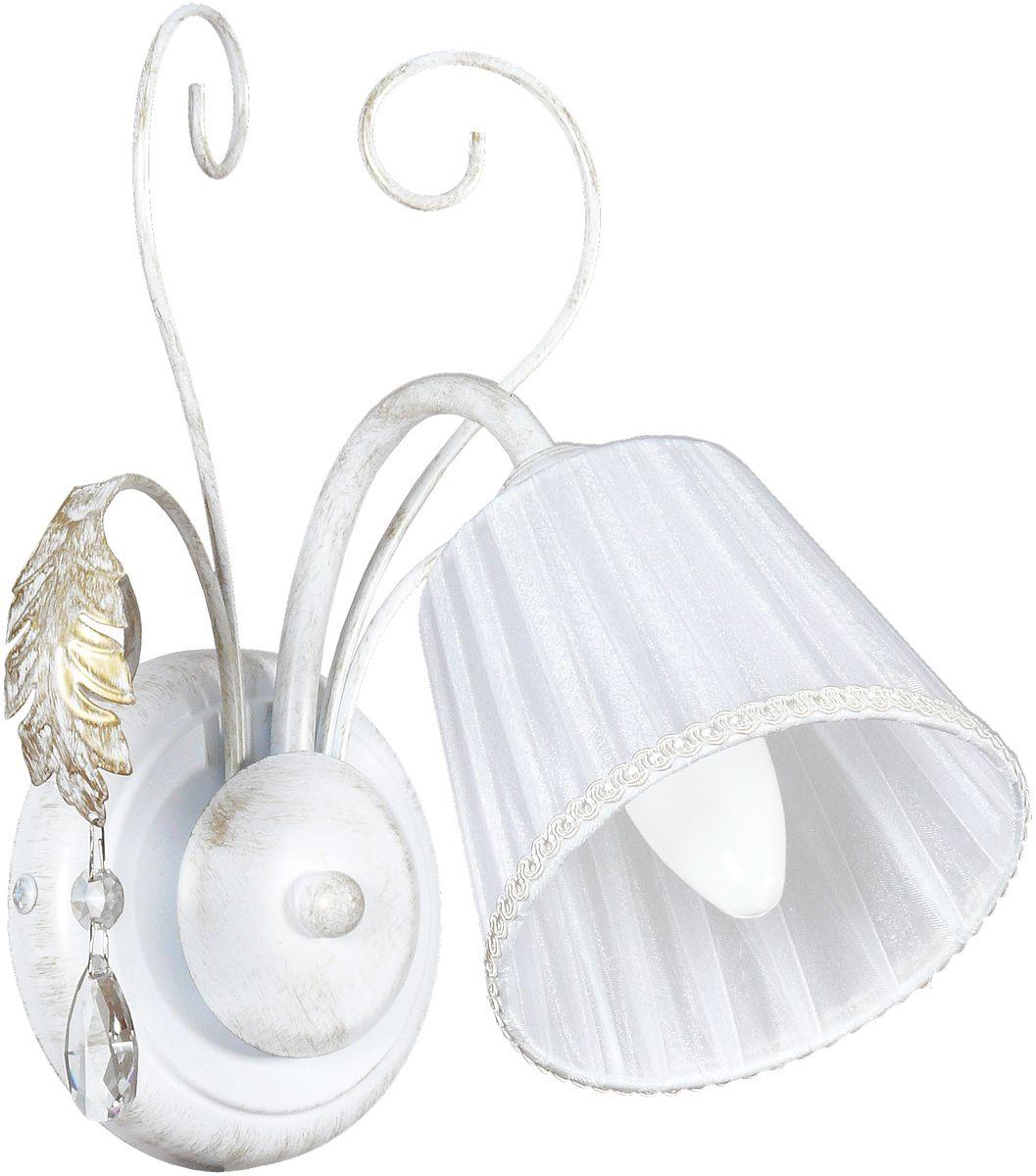 Бра Аврора Шанель, 1 х E14, 60 W. 10060-1B10060-1B