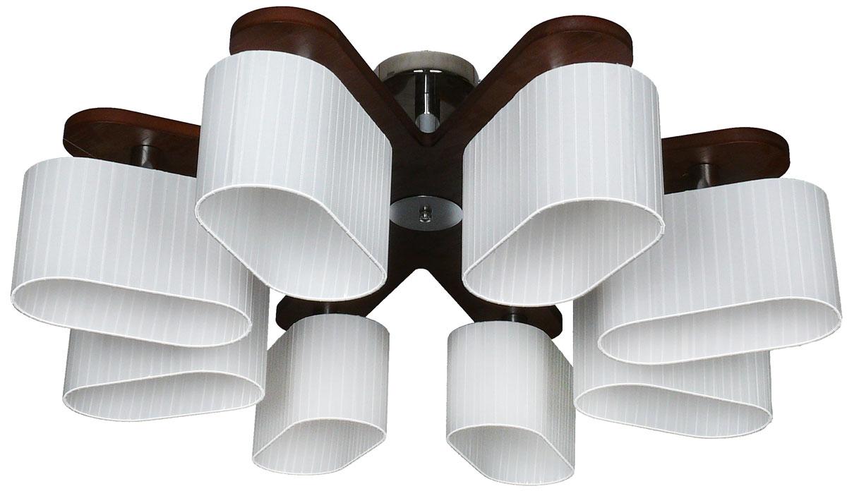 Люстра потолочная Аврора Комфорт, 8 х E14, 60 W. 10068-8C10068-8C