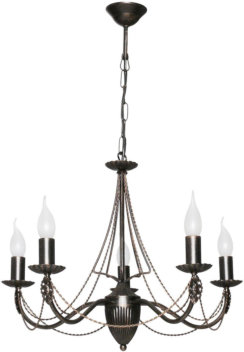 Люстра подвесная Аврора Готика, 5 х E14, 60 W. 10136-5L10136-5L