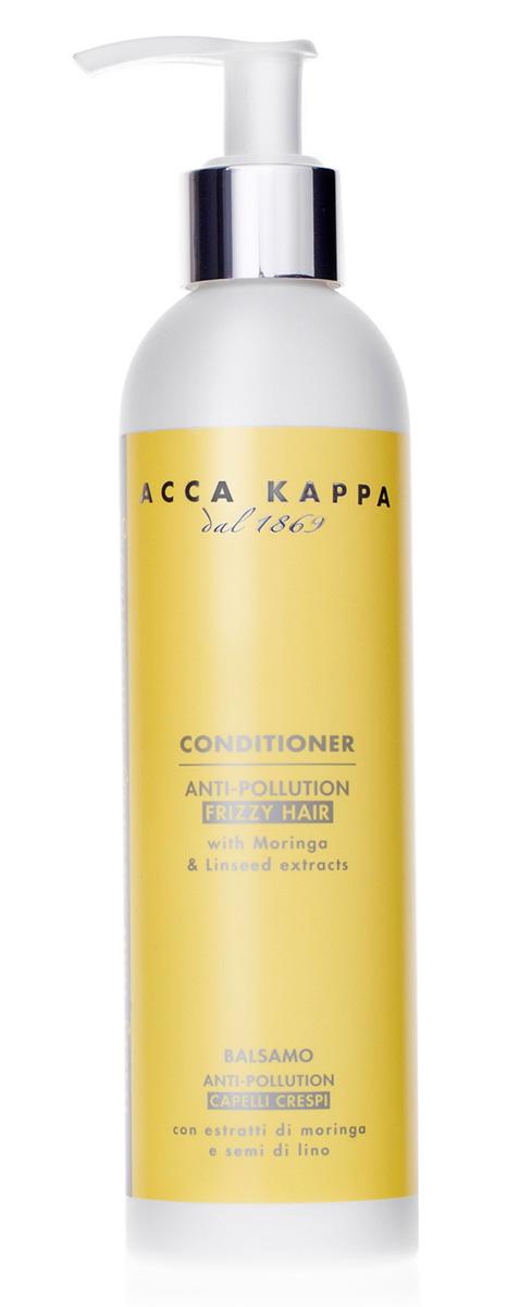 Acca Kappa Защитный кондиционер для вьющихся волос Зеленый мандарин 250 мл853439Кондиционер с экстрактами моринги и льна. Увлажняет, питает, смягчает волосы, защищая их от агрессивного воздействия оуружающей среды.
