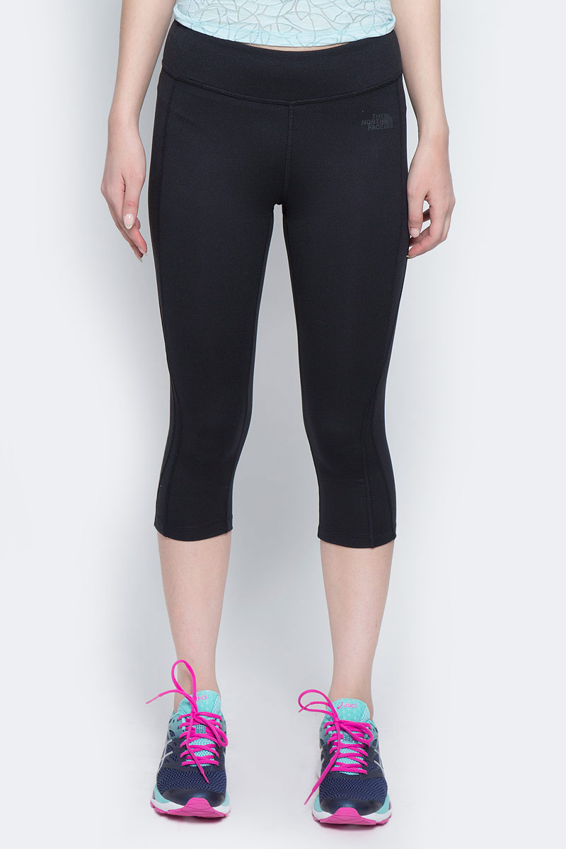 Капри женские The North Face W Pulse Capri Tight, цвет: черный. T92ZW7JK3. Размер XS (40) капри zaffiri капри