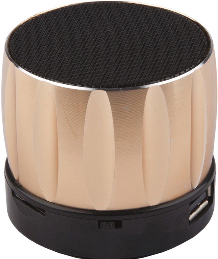 Liberty Project S13, Gold портативная Bluetooth-колонка0L-00027074Портативная Bluetooth-колонка Liberty Project S13 имеет легкий и прочный корпус из пластика, а также поддержку технологии беспроводной связи Bluetooth. Модель оснащена встроенным FM радио, и микрофоном для использования в качестве гарнитуры. Как выбрать портативную колонку. Статья OZON Гид