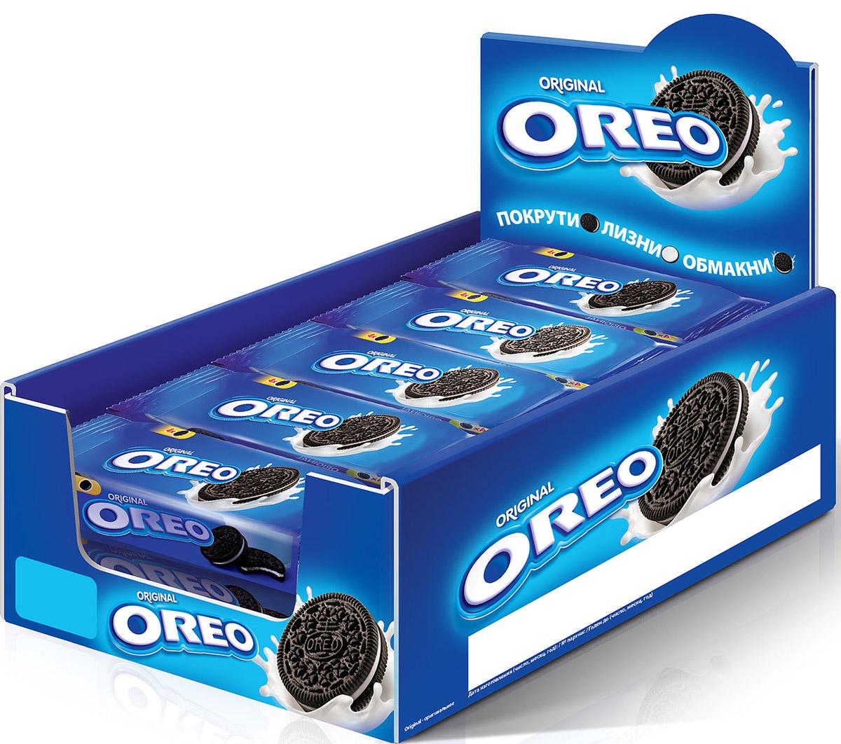 Oreo печенье, 12 шт х 38 г