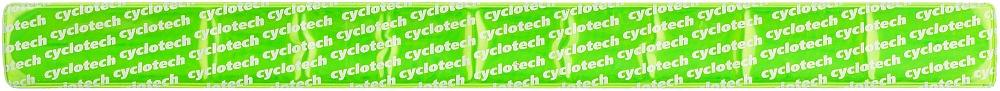 """Универсальный светоотражающий браслет """"Cyclotech"""" можно носить на запястье или лодыжке. Он повысит безопасность катания в темное время суток."""