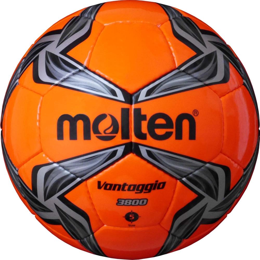 Мяч футбольный Molten Okmltn. Размер 5F5V3800-OKФутбольный мяч для клубных тренировок.ПРОЧНОСТЬПокрышка выполнена из прочной и долговечной синтетической кожи.СОХРАНЕНИЕ ФОРМЫИзготовлен по технологии Vantaggio: многослойная конструкция улучшает форму мяча.УНИКАЛЬНЫЙ ДИЗАЙНЯркие неоновые цвета делают мяч заметным на поле.ГАРАНТИЯ 2 ГОДАДвухлетняя гарантия на качество швов и сохранение формы.