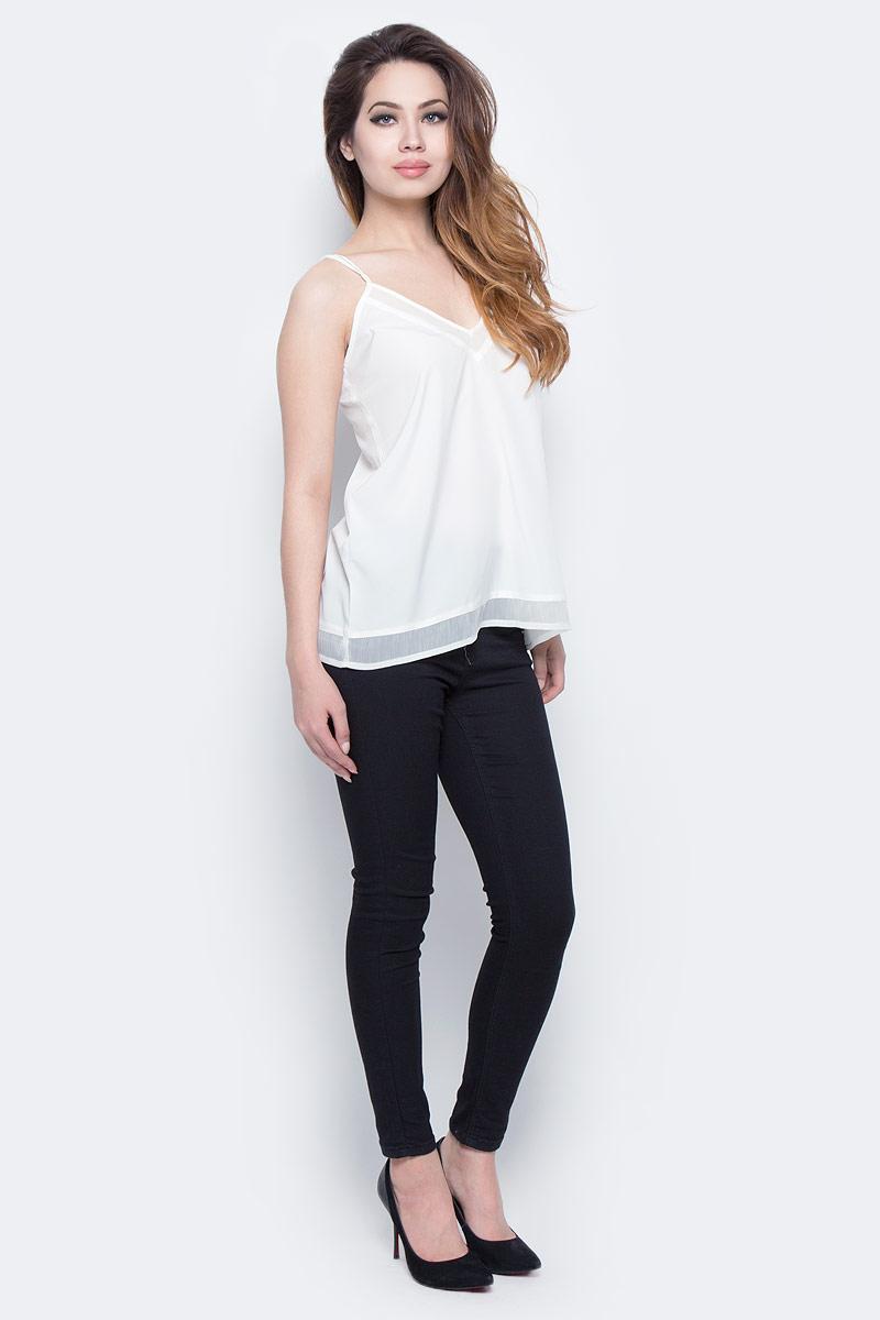 Футболка женская Lee Cooper, цвет: белый. DOLRES-5095. Размер L (48/50) платье lee cooper цвет белый desire 5094 размер l 50