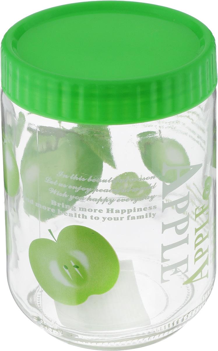 Банка для сыпучих продуктов Foshan Nanhai, цвет: зеленый, прозрачный, 1,2 лLY7120_зеленыйБанка для сыпучих продуктов Foshan Nanhai изготовлена из прочного стекла. Прозрачные стенки позволяют видеть содержимое. Внешняя поверхность декорирована ярким рисунком. Банка снабжена закручивающейся крышкой из прочного пластика. Изделие подходит для хранения разнообразных сыпучих продуктов, таких как крупы, сахар, соль, чай, кофе и многое другое. Банка сбережет ваши продукты от влаги, пыли и насекомых и надолго сохранит их свежими. Можно мыть в посудомоечной машине. Диаметр банки: 11 см. Высота банки (с учетом крышки): 16,5 см.