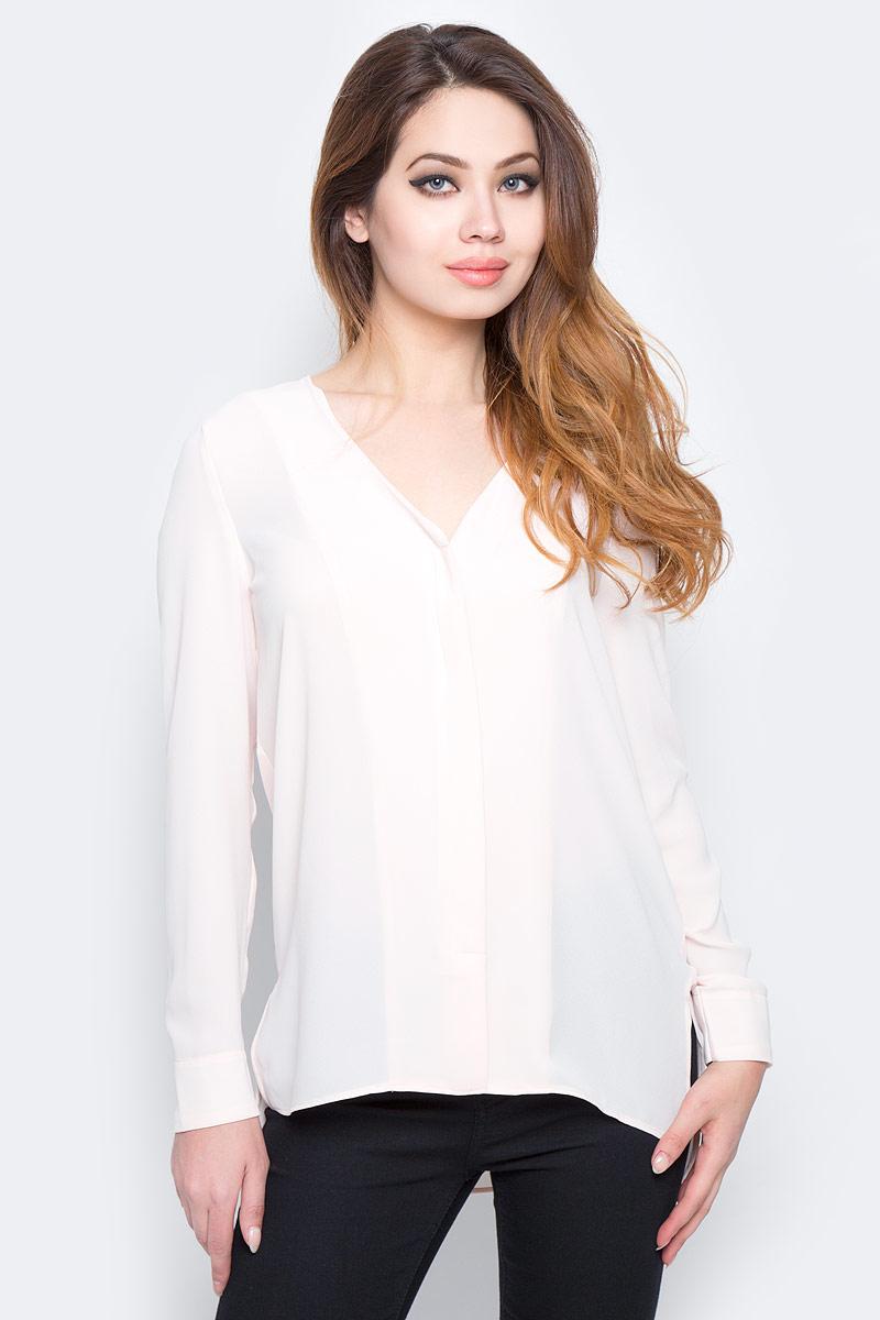 Блузка женская Selected Femme, цвет: розовый. 16053871. Размер 40 (46) блузка женская selected femme цвет розовый 16053871 размер 40 46