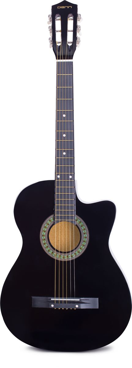 Denn DCG395 акустическая гитара belucci bc3820 beige акустическая гитара
