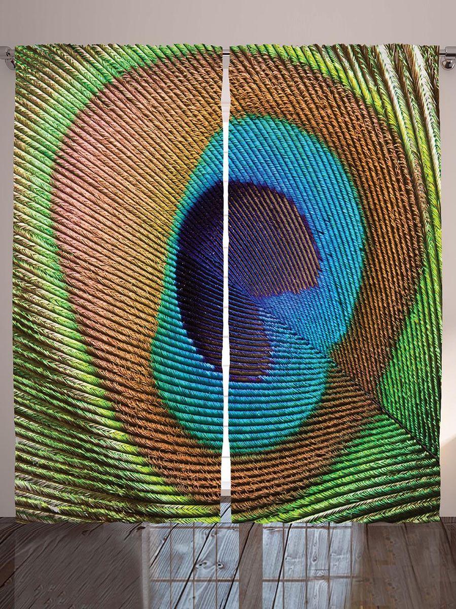 Комплект фотоштор Magic Lady Перо павлина, на ленте, высота 265 см. шсг_9036шсг_9036Компания Сэмболь изготавливает шторы из высококачественного сатена (полиэстер 100%). При изготовлении используются специальные гипоаллергенные чернила для прямой печати по ткани, безопасные для человека и животных. Экологичность продукции Magic lady и безопасность для окружающей среды подтверждены сертификатом Oeko-Tex Standard 100. Крепление: крючки для крепления на шторной ленте (50 шт). Возможно крепление на трубу. Внимание! При нанесении сублимационной печати на ткань технологическим методом при температуре 240°С, возможно отклонение полученных размеров (указанных на этикетке и сайте) от стандартных на + - 3-5 см. Производитель старается максимально точно передать цвета изделия на фотографиях, однако искажения неизбежны и фактический цвет изделия может отличаться от воспринимаемого по фото. Обратите внимание! Шторы изготовлены из полиэстра сатенового переплетения, а не из сатина (хлопок). Размер одного полотна шторы: 145х265 см. В комплекте 2 полотна шторы и 50 крючков.
