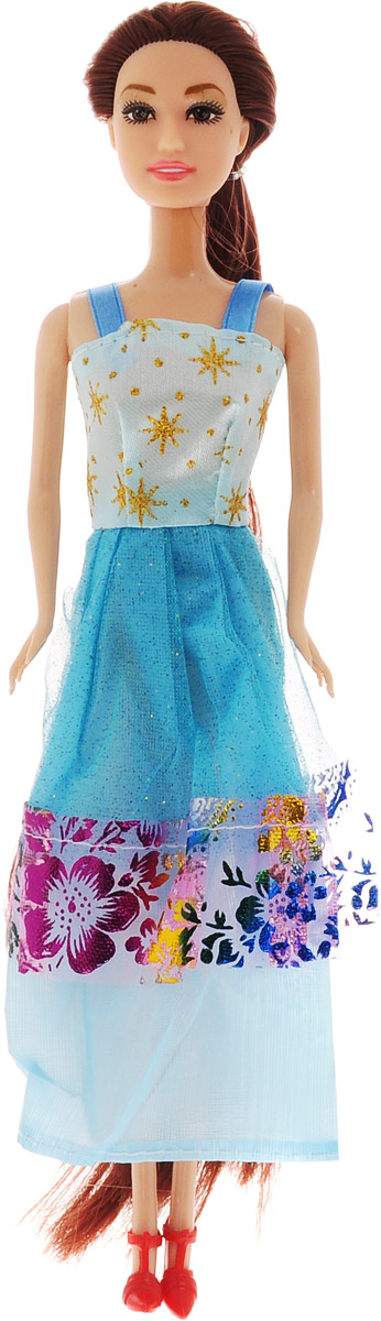 ABtoys Кукла Модница цвет платья голубой abtoys кукла зимняя фея сноусторм