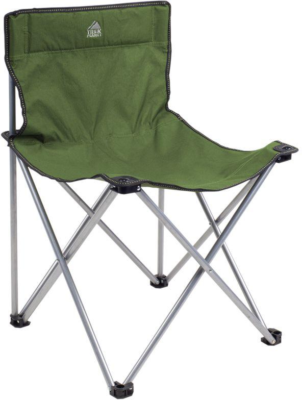 Стул складной TREK PLANET Traveler, кемпинговый, 48х40х46x74,5 см7880Достаточно широкое сиденье и спинка складного стула TRAVELER - гарантия комфорта на пикнике, рыбалке, в походе. Добавьте к этому легкий вес, прочный материал с защитой от ультрафиолетового излучения и ножки с защитой из прочного пластика, чтобы стул не проваливался в землю по нагрузкой. Компактно складывается, комплектуется чехлом с лямкой для переноски.Особенности:- Комфортное сиденье. - Защита ножек. - Комплектуется чехлом с лямкой для хранения и переноски.Материал: 600D Polyester- стойкий к ультрафиолетовому излучению.Рама: 16 мм сталь.Размер в разложенном виде: 48 х 40 х 46 x 74,5 см.Размер в сложенном виде: 18 х 16 х 78 см.Вес: 2,2 кг.Нагрузка: 100 кг.Цвет: зеленый.Производство: Китай.Артикул: 70635.