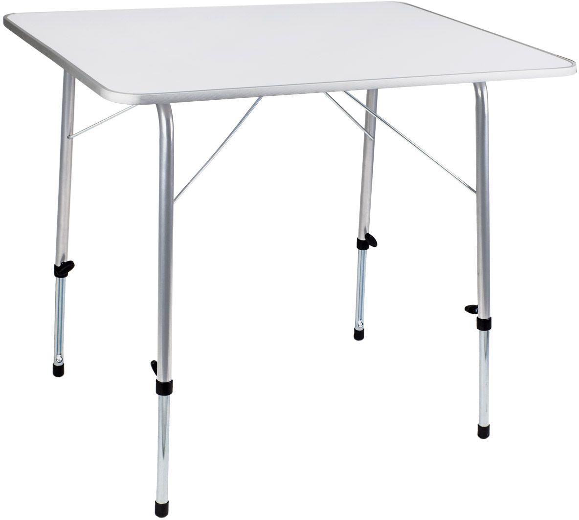 Стол складной TREK PLANET Picnic 80, кемпинговый, 81 х 6,5 х 62,5 см70664Удобный стол PICNIC 80 - отлично подойдет для кемпинга, дачи или пикника на природе. Благодаря индивидуально регулируемым ножкам стол можно ровно поставить на любой поверхностиНа минимальной высоте ножек высота стола удобна для детей. Особенности: - Каждая ножка индивидуально ругелируется. - Можно ровно поставить стол на любой поверхности. - Столешница из огнеупорного пластика. - На минимальной высоте стол удобен для детей. - Плоско складывается.Материал: Столешница: огнеупорный пластик. Рама: 22/19 мм сталь. Размер в разложенном виде: 60 х 80 х 50/69 см. Минимальная высота стола: 50 см. Максимальная высота стола: 69 см. Размер в сложенном виде: 60 х 80 см. Вес: 6,6 кг. Нагрузка: 30 кг. Производство: Китай. Артикул: 70664.