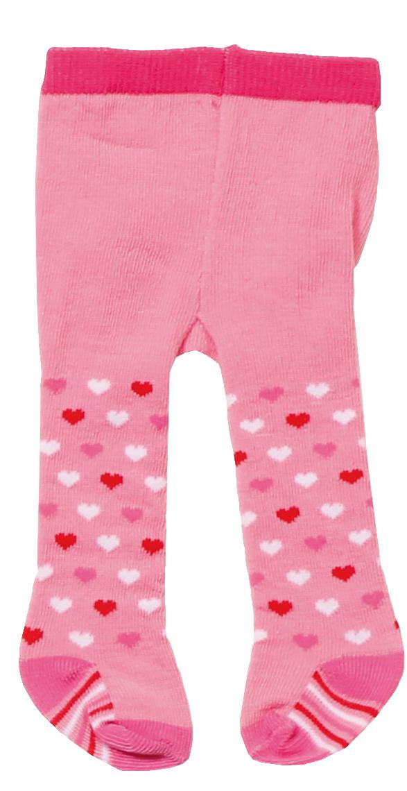 Baby Born Одежда для кукол Колготки цвет розовый 2 пары baby born одежда для дождливой погоды