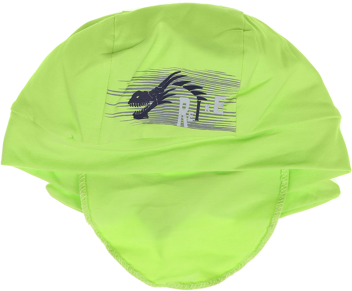 Бандана для мальчика Reike Драконы, цвет: зеленый . RKNSS17-DRG2. Размер 50RKNSS17-DRG2_greenБандана для мальчика Reike Драконы, изготовленная из натурального хлопка, станет стильным аксессуаром во время прогулок и игр на свежем воздухе, защищая голову малыша от солнца и ветра. Бандана оформлена объемным принтом в стиле серии и фиксируется на голове широкими завязками.Уважаемые клиенты!Размер, доступный для заказа, является обхватом головы.