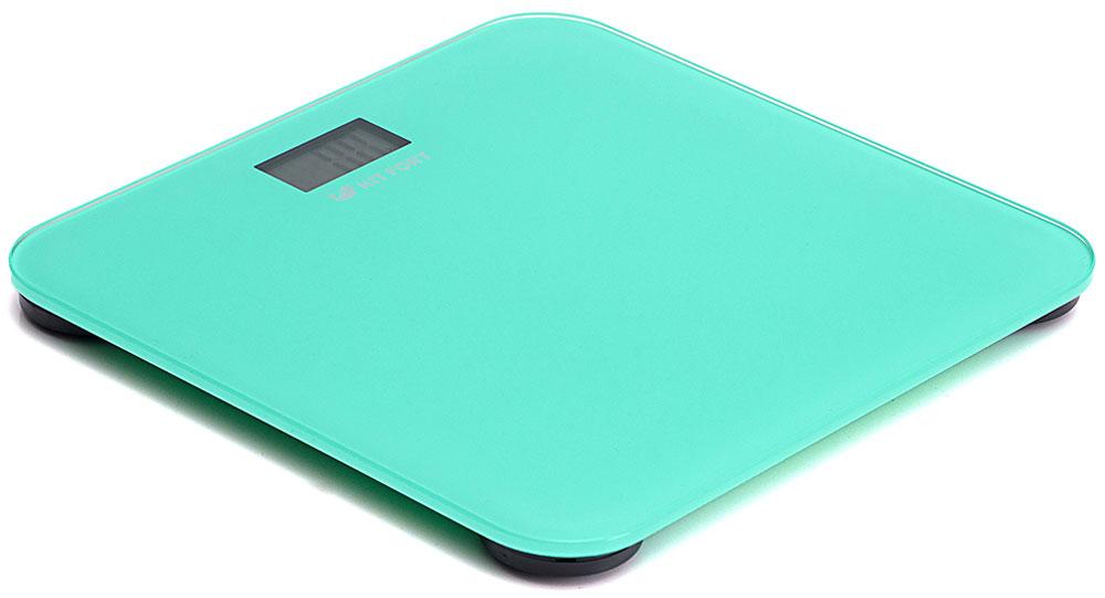 Kitfort КТ-804-1, Turquoise весы напольныеКТ-804-1Электронные напольные весы Kitfort КТ-804 обеспечивают высокую точность измерения и станут неизменным спутником для людей, следящих за своим весом. Весы оснащены жидкокристаллическим дисплеем с крупными цифрами, что делает их использование максимально удобным. Платформа выполнена из высокопрочного полированного стекла, а прорезиненные ножки обеспечивают весам дополнительную устойчивость и предотвращают их скольжение по полу, что гарантирует безопасность во время взвешивания.Включение и выключение весов Kitfort КТ-804 происходит автоматически. После взвешивания показания весов фиксируются. При каждом включении весы автоматически калибруются и тарируются для обеспечения большей точности показаний. Весы имеют яркий привлекательный дизайн, благодаря чему украсят собой любой интерьер.Минимальный вес: 2,5 кг