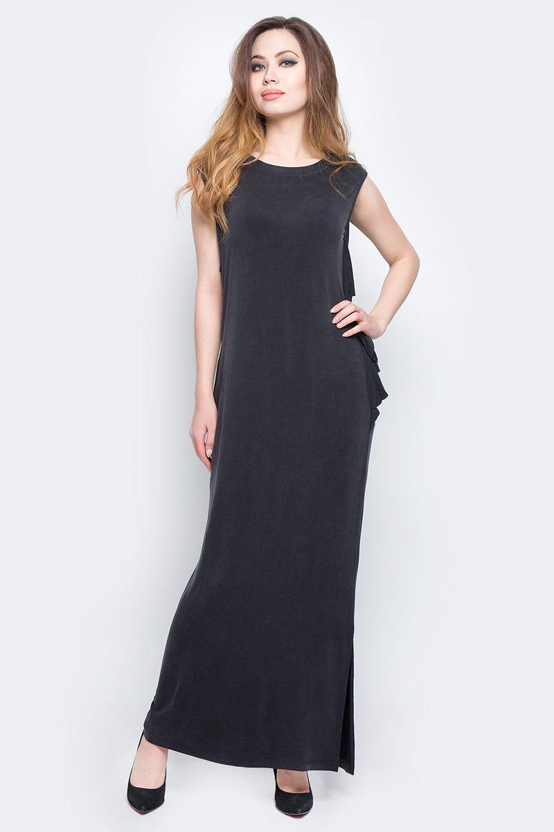 Платье Diesel, цвет: черный. 00SVV7-0JANG/900. Размер S (42)