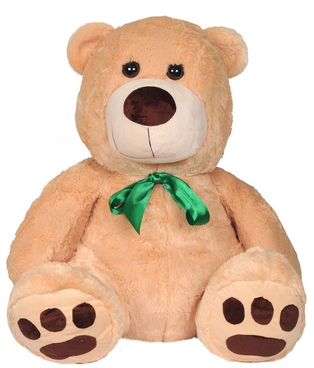 СмолТойс Мягкая игрушка Медведь цвет молочный 70 см мягкая игрушка медведь с медвежонком