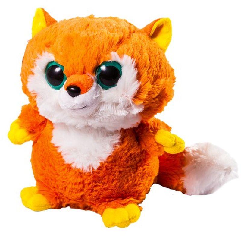 СмолТойс Мягкая игрушка Лисичка 30 см мягкая игрушка смолтойс кевин в робе 30 см
