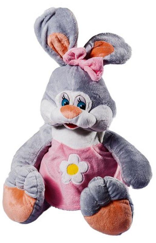 СмолТойс Мягкая игрушка Зайка Даша цвет розовывй 41 см мягкая игрушка смолтойс зайка радужный 51 см