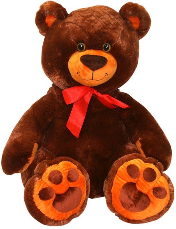 СмолТойс Мягкая игрушка Медвежонок Захар цвет шоколадный 67 см мягкая игрушка смолтойс медвежонок тедди коричневый 30 см