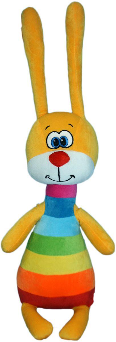 СмолТойс Мягкая игрушка Зайка Радужный 51 см мягкая игрушка смолтойс зайка радужный 51 см