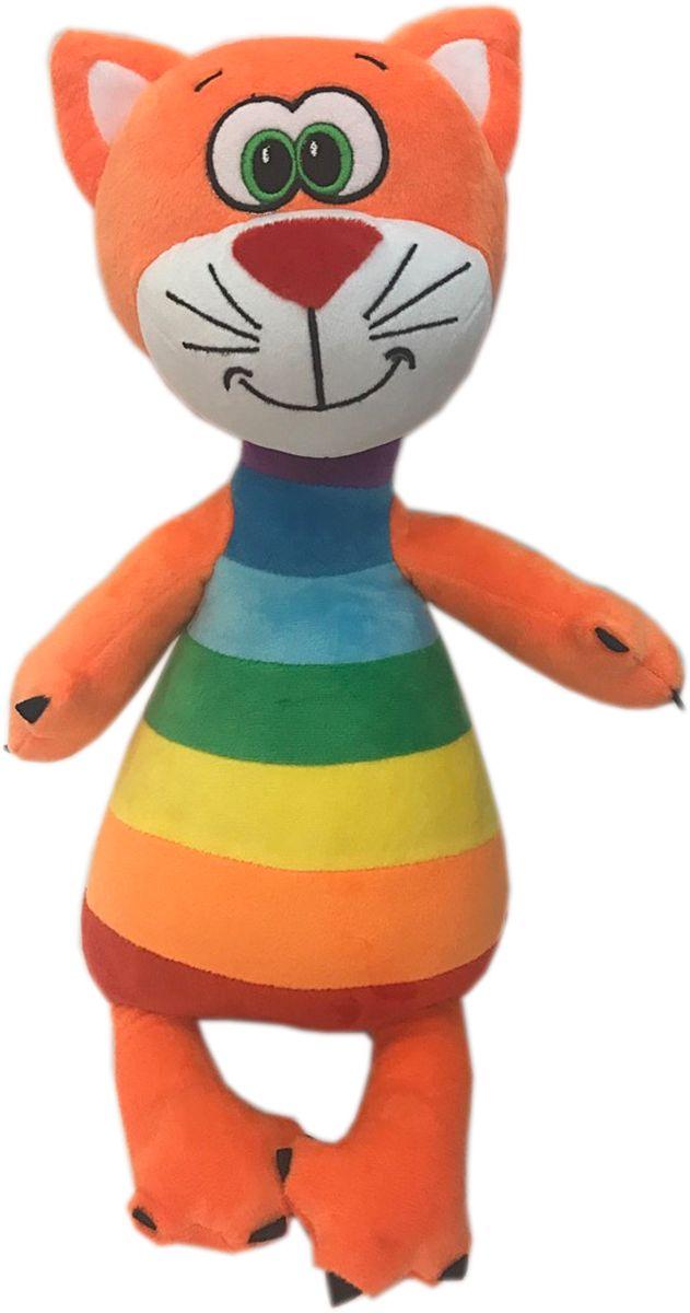 СмолТойс Мягкая игрушка Котенок Радужный 47 см игрушка арт 1805 36 мягкая игрушка котенок трехшерстный м