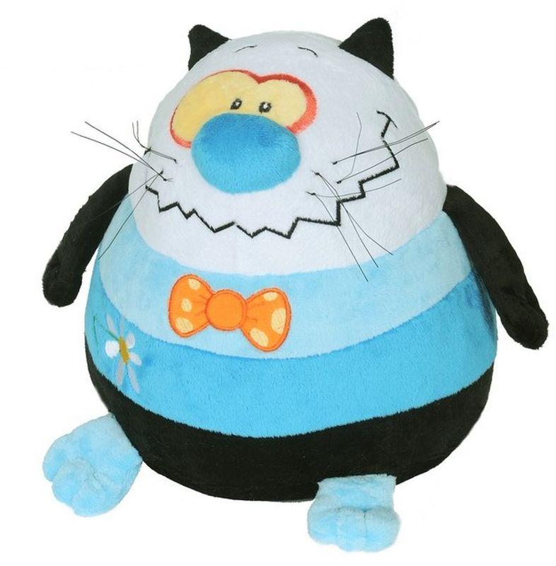 СмолТойс Мягкая игрушка Кот шарик 27 см смолтойс мягкая игрушка кот федот 85 см
